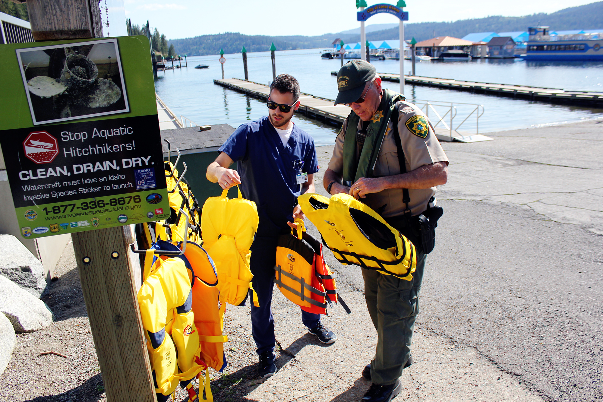 How to Clean & Sanitize Your Life Jacket